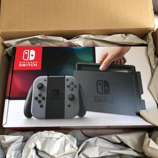 ニンテンドースイッチ(Nintendo Switch)の任天堂スイッチ ニンテンドースイッチ 新品未開封 メーカー保証7/17より1年(家庭用ゲーム本体)