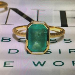 バーニーズニューヨーク(BARNEYS NEW YORK)のMagnolia12  エメラルドリング  バーニーズ(リング(指輪))