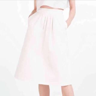 ザラ(ZARA)のZARA膝丈Aラインスカート(ひざ丈スカート)