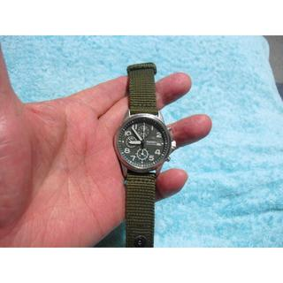 セイコー(SEIKO)のSEIKO クロノグラフ ミリタリー(腕時計(アナログ))