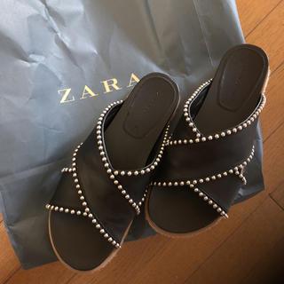 ザラ(ZARA)のzara今期 38(サンダル)