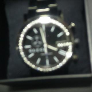 グッチ(Gucci)のグッチ ダイヤモンドベゼル 腕時計 GUCCI シャツ キャップ スニーカー(腕時計(アナログ))