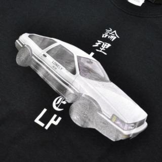 シュプリーム(Supreme)のLONELY 論理 ハチロク ロンT 黒(Tシャツ/カットソー(七分/長袖))