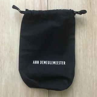 アンドゥムルメステール(Ann Demeulemeester)のアンドゥムルメステール黒ポーチ(ポーチ)