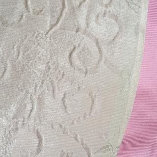 薔薇白色浴衣帯(浴衣帯)