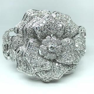 1374 ダイヤモンド 0.40ct 11.50ct WGK18 ブレスレット(ブレスレット/バングル)