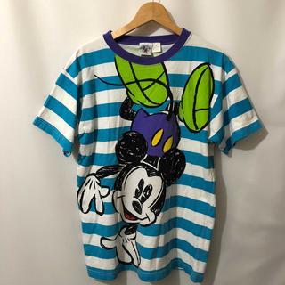ディズニー(Disney)の*Q-389 ミッキーマウス Tシャツ(Tシャツ/カットソー(半袖/袖なし))