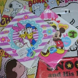 ディズニー(Disney)のディズニーループタオル 新品未開封 2枚セットです☆即購入可能(タオル)