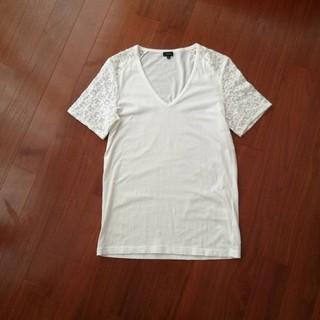 ジョゼフ(JOSEPH)のジョセフ 袖レースTシャツ(Tシャツ(半袖/袖なし))