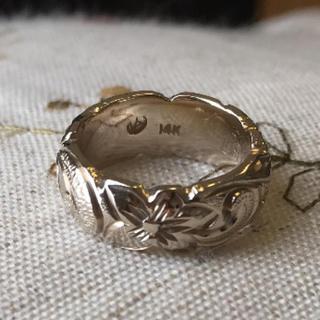 ハワイアンジュエリー 14K ピンキー ピンクゴールド(リング(指輪))