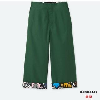 マリメッコ(marimekko)のマリメッコ marimekko ユニクロ コラボ 完売商品 パンツ(カジュアルパンツ)