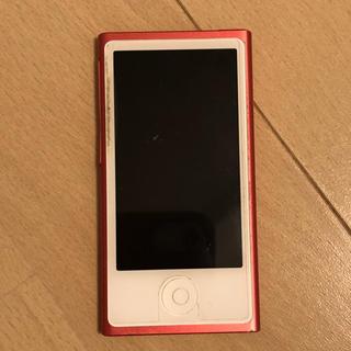 アップル(Apple)のiPod nano 第7世代 ピンク(ポータブルプレーヤー)