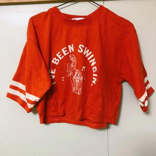 スライ(SLY)のSLY グラフィックTシャツ 赤(Tシャツ(半袖/袖なし))