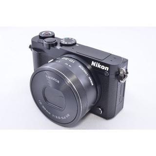 ニコン(Nikon)の☆新品級☆ 自撮り&Wifi&4KNikon1 J5 kit ニコン(ミラーレス一眼)