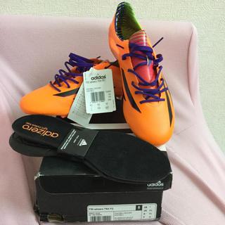 アディダス(adidas)のF50 アディゼロ TRX FG 25.0cm(シューズ)