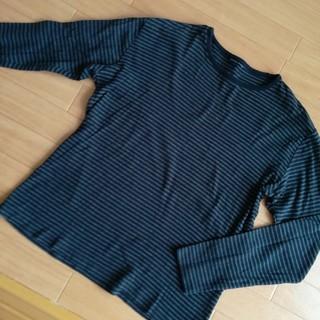 ユニクロ(UNIQLO)のメンズロングTシャツ(Tシャツ/カットソー(七分/長袖))