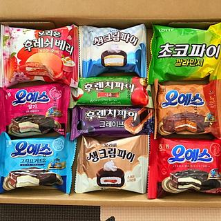 韓国★お菓子詰め合わせ⑲(菓子/デザート)