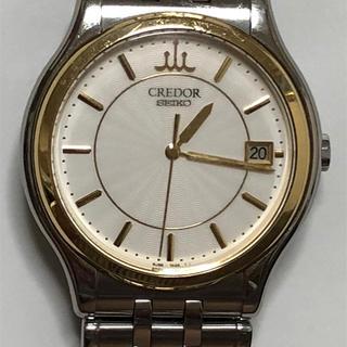 セイコー(SEIKO)のたか様専用  セイコー クレドール  デイト クォーツ メンズ 腕時計 (腕時計(アナログ))