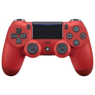 プレイステーション4(PlayStation4)のPS4 ワイヤレスコントローラー マグマレッド (新品)(家庭用ゲーム本体)