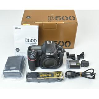 ニコン(Nikon)の5000ショット Nikon D500 ボディ(デジタル一眼)