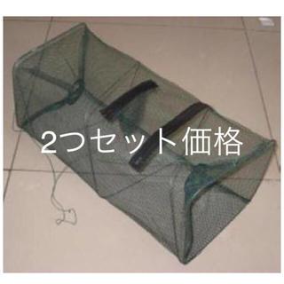 魚釣り  網カゴ  カニ取り網   送料無料 2セット(その他)