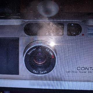 キョウセラ(京セラ)のターバン様専用  CONTAX T2 【212560】(フィルムカメラ)