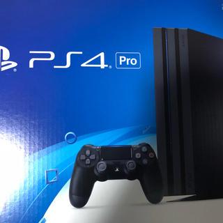 プレイステーション4(PlayStation4)のPS4pro PS4 付属品完備(家庭用ゲーム本体)