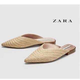 ザラ(ZARA)のZARA 新品 サンダル ミュール(サンダル)