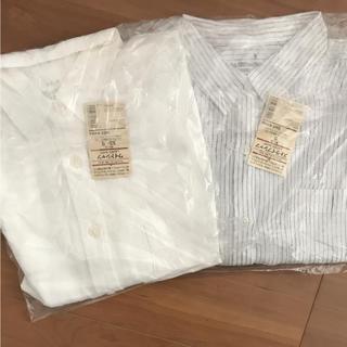 ムジルシリョウヒン(MUJI (無印良品))の無印 シャツ 二枚セット(シャツ/ブラウス(長袖/七分))