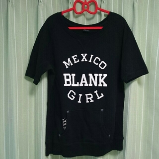 マウジー(moussy)の新品同moussy半袖スウェットTシャツマウジー(Tシャツ(半袖/袖なし))