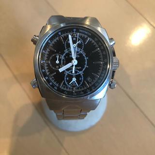 セイコー(SEIKO)のSEIKO セイコー クロノグラフ  メンズ  時計  クオーツ  美品(腕時計(アナログ))