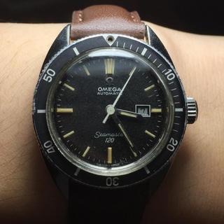 オメガ(OMEGA)の【OMEGA】オメガ シーマスター 120 アンティーク 自動巻き OH費用込み(腕時計(アナログ))