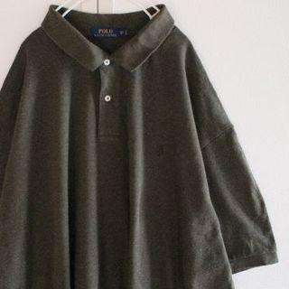 ポロラルフローレン(POLO RALPH LAUREN)のUS ビッグサイズ ラルフローレン olive 半袖 ポロシャツ 4XB(ポロシャツ)