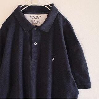 ノーティカ(NAUTICA)のUS ノーティカ navywh XL 半袖 ポロシャツ(ポロシャツ)
