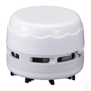 卓上そうじ機 乾電池式 ホワイト [品番]00-5157 JIM-C0(掃除機)