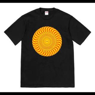 シュプリーム(Supreme)のsupreme×spitfire Black M(Tシャツ/カットソー(半袖/袖なし))