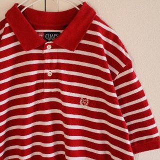 チャップス(CHAPS)のUS チャップス C2 ラルフローレン 半袖 ポロシャツ L(ポロシャツ)