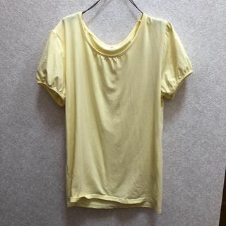 シマムラ(しまむら)の【477】しまむらの黄色いTシャツ(Tシャツ(半袖/袖なし))
