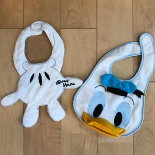ディズニー(Disney)のディズニースタイセット(ベビースタイ/よだれかけ)