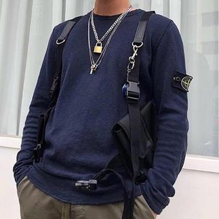 awende ポケットベルトバッグ Pocket Belt Bag ブラック(ボディーバッグ)