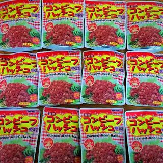 【沖縄優良県産品】オキハム  コンビーフハッシュ 12袋(レトルト食品)