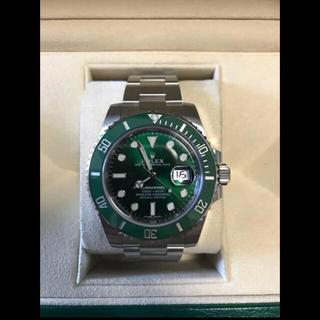 ロレックス(ROLEX)のロレックスサブマリーナデイトグリーン116610LV(腕時計(アナログ))