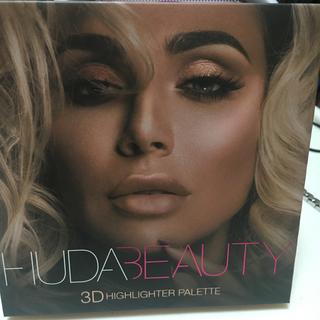 セフォラ(Sephora)のHuda beauty highlighter  ヒューダハイライターパレット(フェイスカラー)