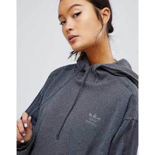 アディダス(adidas)の【XLサイズ】新品未使用タグ付き adidas スウェット フードパーカー(パーカー)