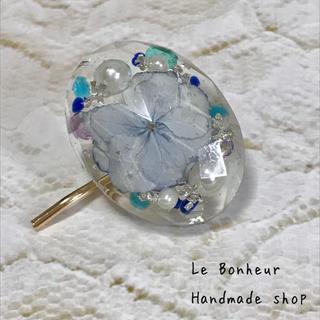 Iced flower紫陽花② ポニーフック ヘアカフス (その他)