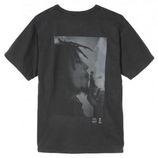 ステューシー(STUSSY)のstussy ボブマーリー Tee 黒 L(Tシャツ/カットソー(半袖/袖なし))