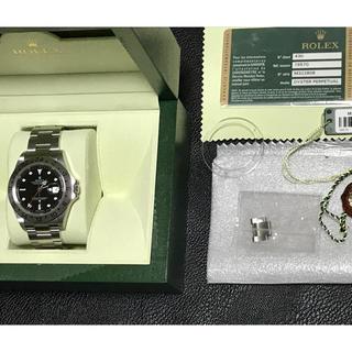 ロレックス(ROLEX)の正規品 ROLEX ロレックス エクスプローラⅡ ①(腕時計(アナログ))