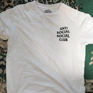 シュプリーム(Supreme)のanti social social club アンチソーシャルソーシャルクラブ(Tシャツ/カットソー(半袖/袖なし))