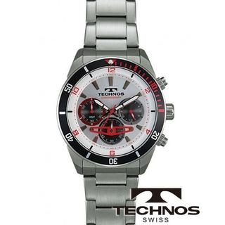 テクノス(TECHNOS)のTECHNOS[テクノス] 腕時計 クロノグラフ 10気圧防水 T5640SS (腕時計(アナログ))