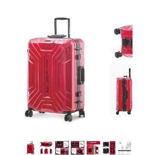 【新品】LUSHBERRYスーツケースXLサイズ(トラベルバッグ/スーツケース)